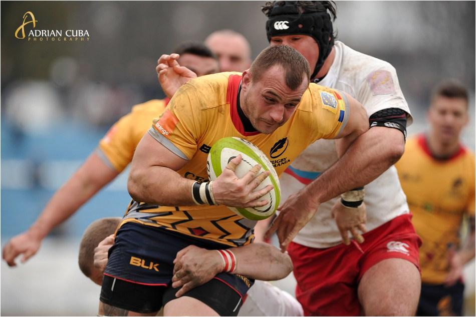 Echipa nationala de rugby a Romaniei a invins Rusia cu 30-0 in Cupa Europeana a Natiunilor