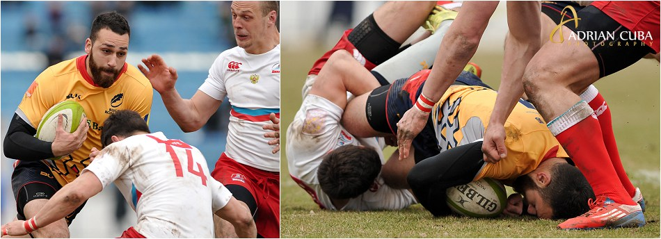 Rugby Romania-Rusia