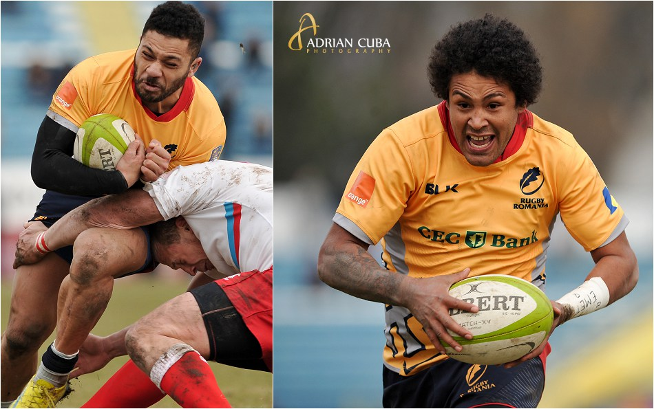 Echipa nationala de rugby a Romaniei a invins cu scorul de 30-0 echipa Rusiei.