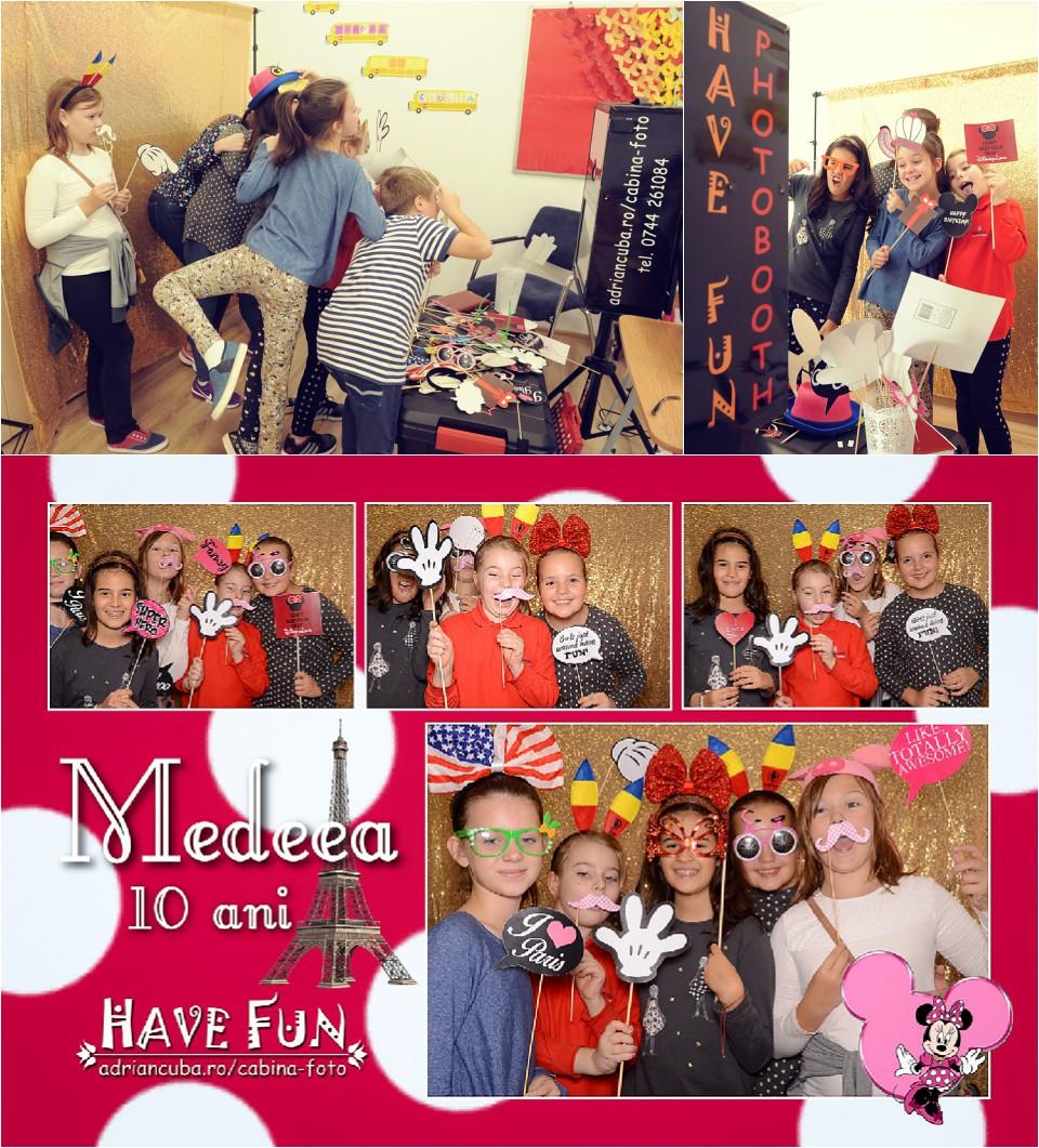 Fotografii la cabina foto Iasi Have Fun photobooth petrecere aniversare copii
