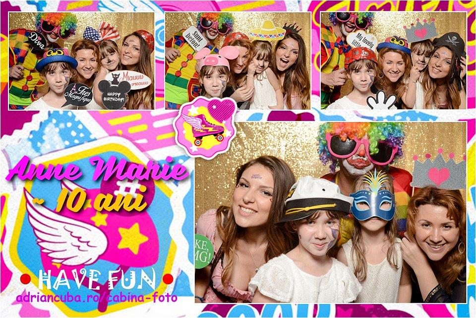 Cabina foto Have Fun la petrecere copii.