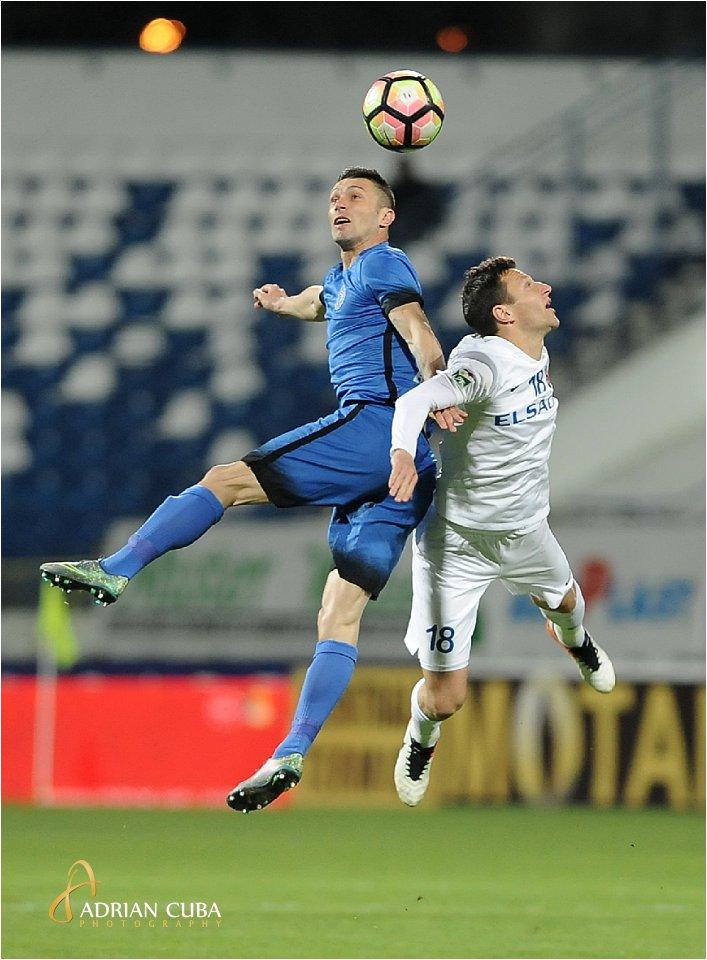 Meciul de fotbal dintre CSM Politehnica Iasi si FC Botosani, in Liga 1, play-out, etapa a 5-a