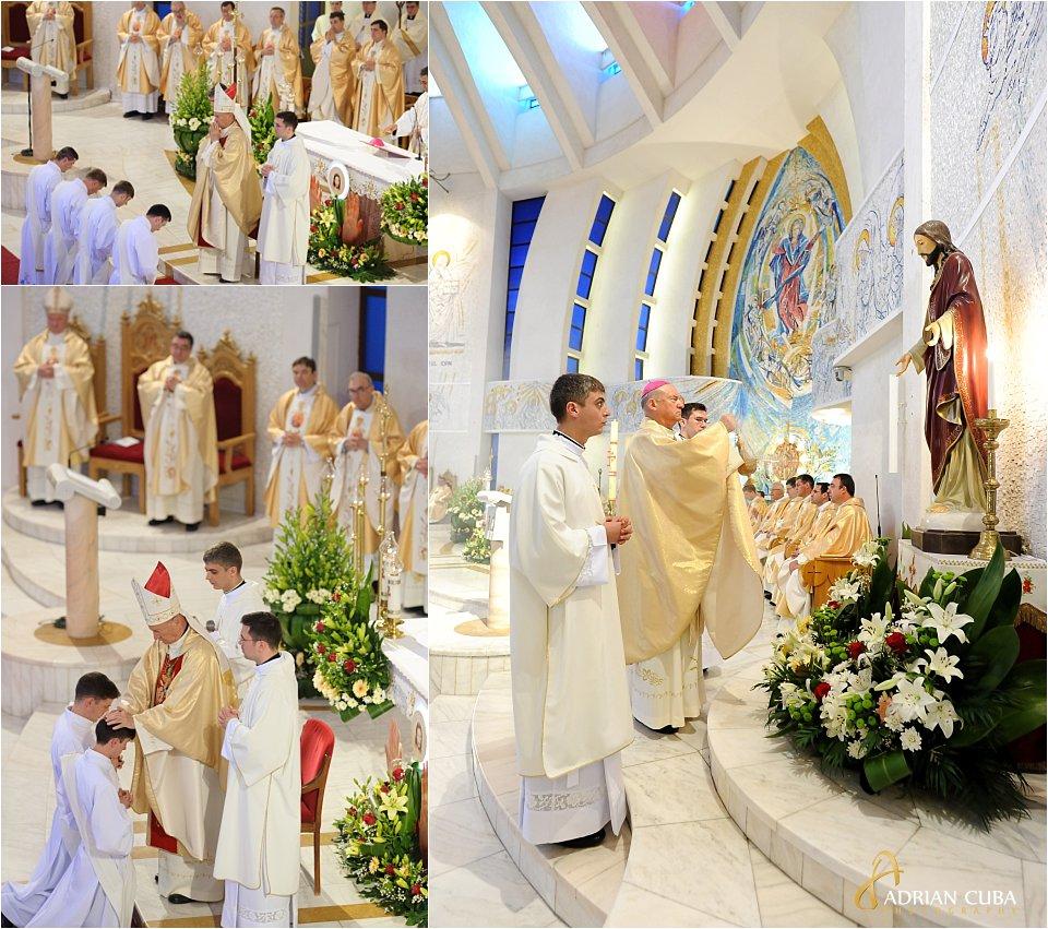 Episcopul Petru Gherghel hirotoneste 13 noi preoti, anul 2017