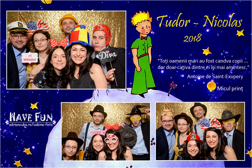 Have Fun cabina foto petrecere botez Iasi