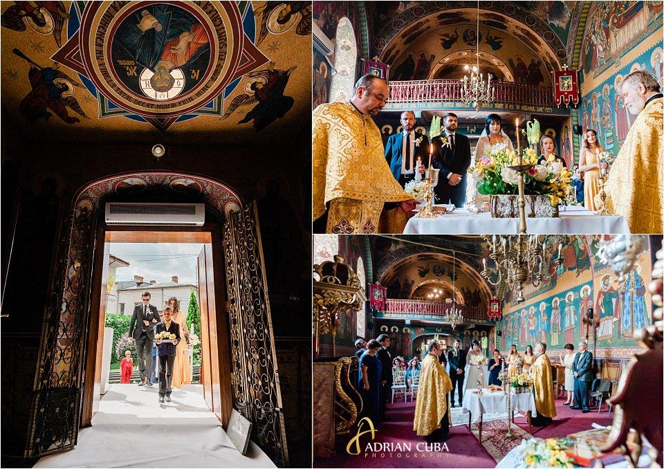 Cununie religioasa la biserica Sfanta Parascheva din Iasi.