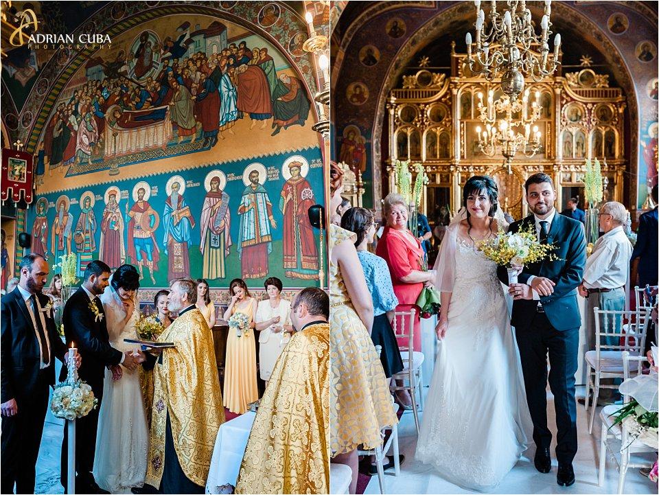 Mirii participa la cununia religioasa la biserica Sfanta Parascheva Iasi
