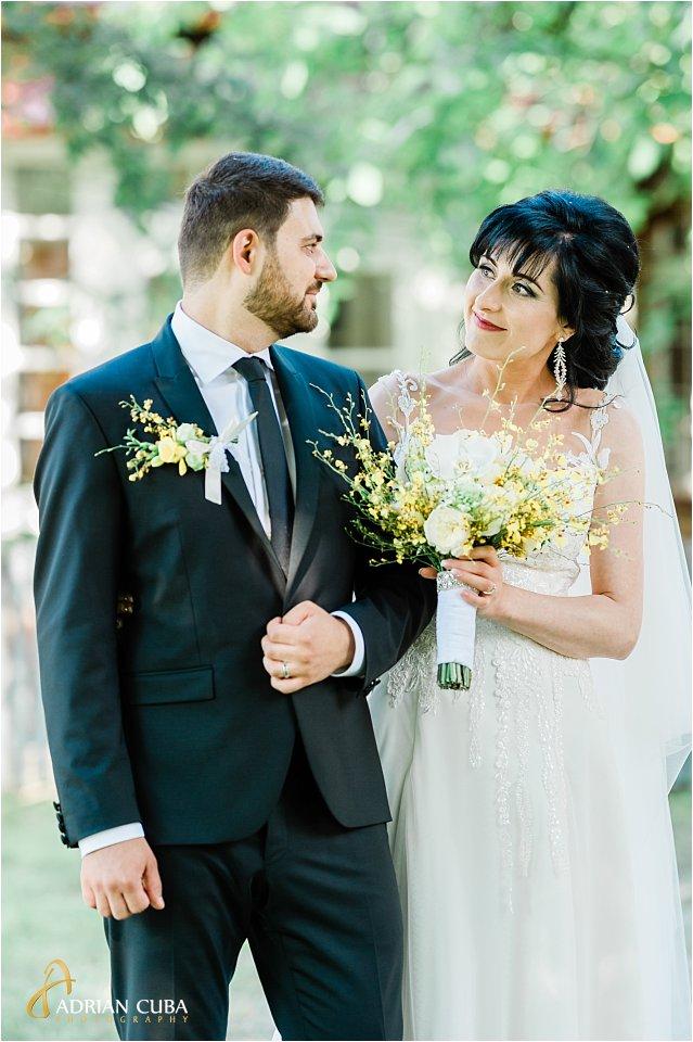 Mire si mireasa la sesiune foto nunta Iasi, Adrian Cuba fotograf
