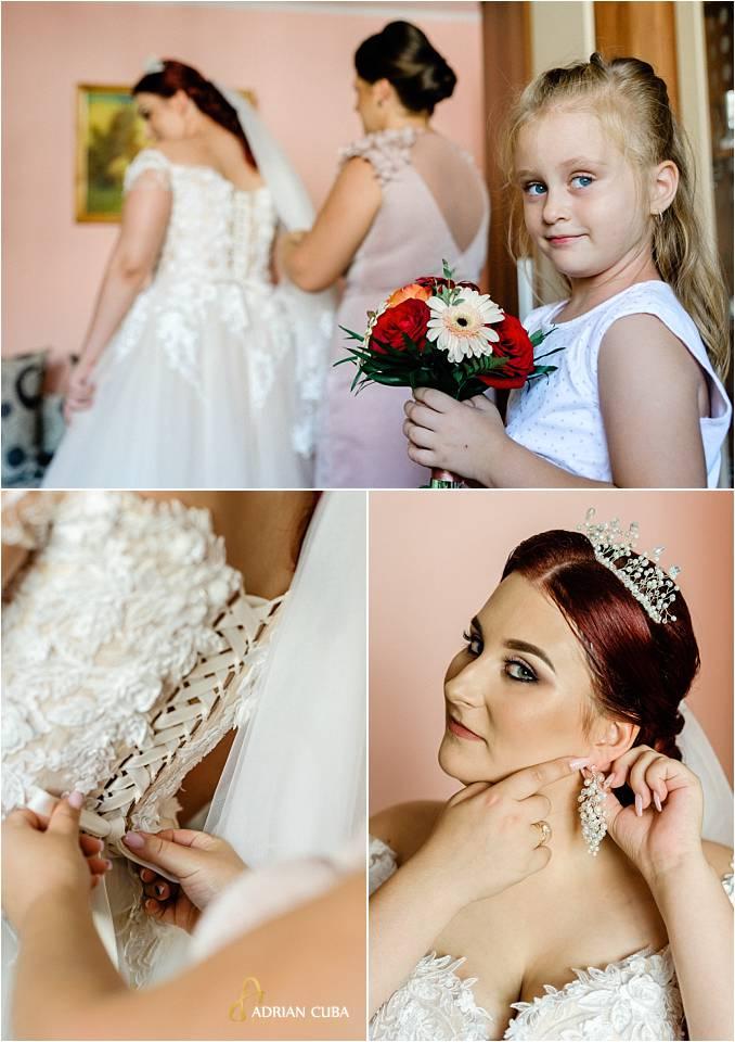 nunta iasi gatitul miresei