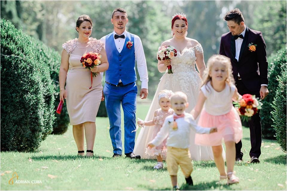 Mirii si nasii la sedinta foto nunta Iasi
