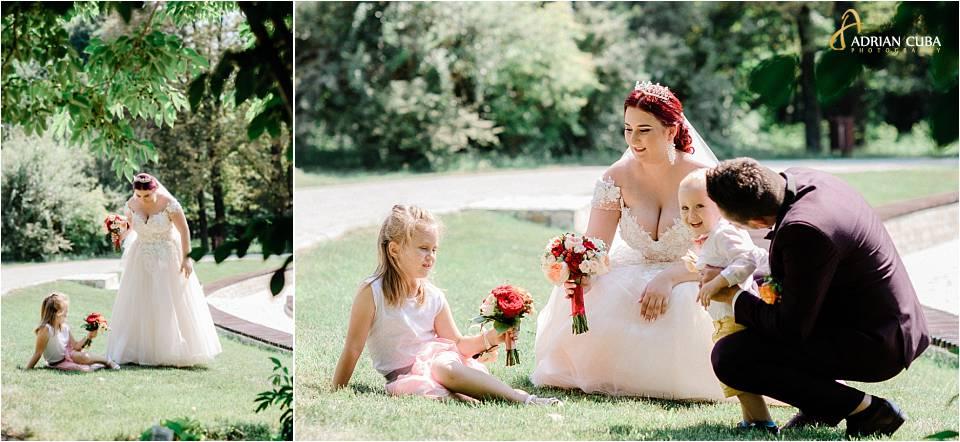 Portret familie la sedinta foto nunta Iasi