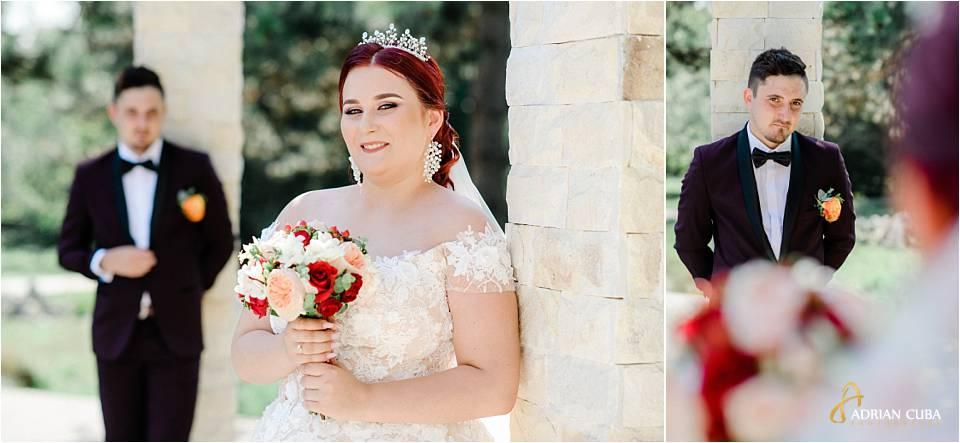 Mire si mireasa la sedinta foto nunta