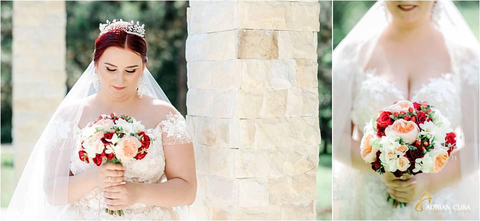 Mireasa pozeaza la sedinta foto nunta iasi
