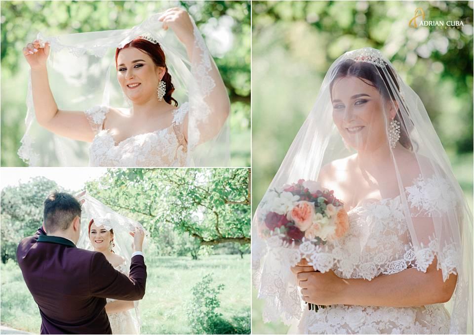 Mireasa la sedinta foto nunta