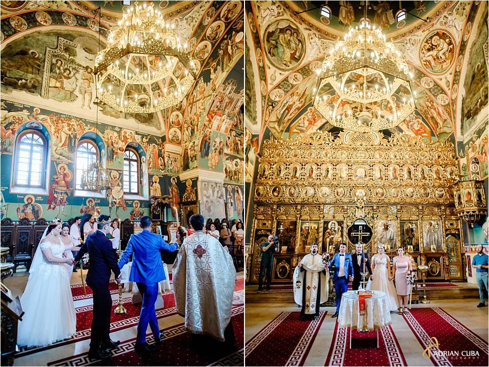 Cununia religioasa la biserica Sf Sava iasi