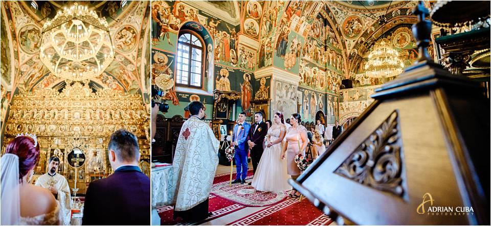 Mirii la cununia religioasa la biserica Sf Sava din iasi