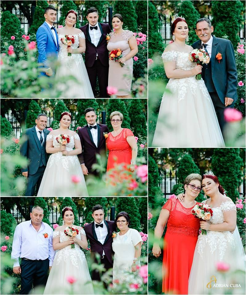 Fotografie de familie la sesiune foto nunta