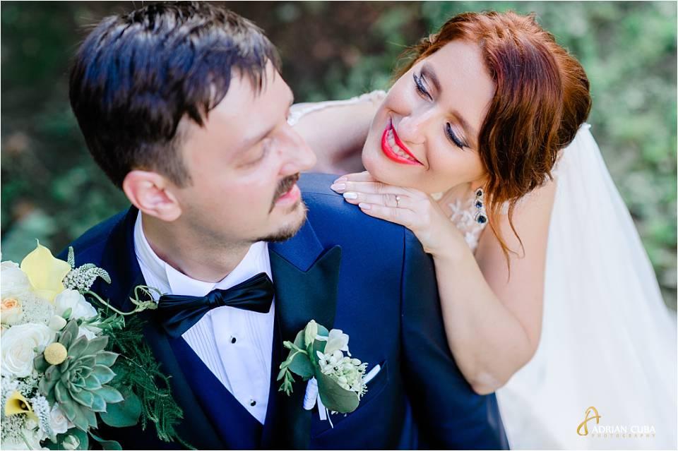 Mire si mireasa la sedinta foto de nunta in Iasi.