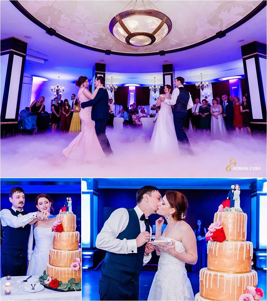 Dansul mirilor si torul de nunta la restaurantul Bellaria Iasi