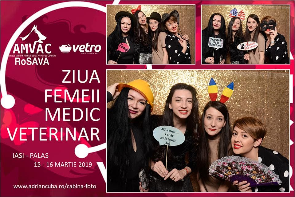 Cabina foto Iasi Have Fun la eveniment corporate.