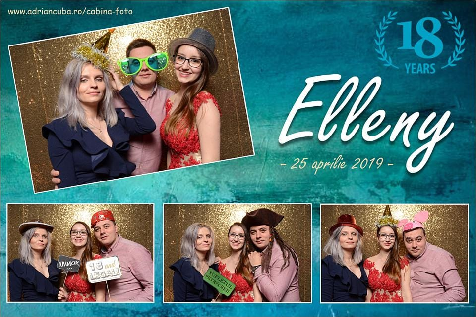 Have Fun cabina foto Iasi la petrecere majorat Elleny