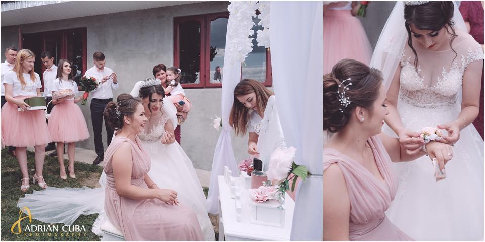 Mireasa gateste nasa la nunta Vaslui