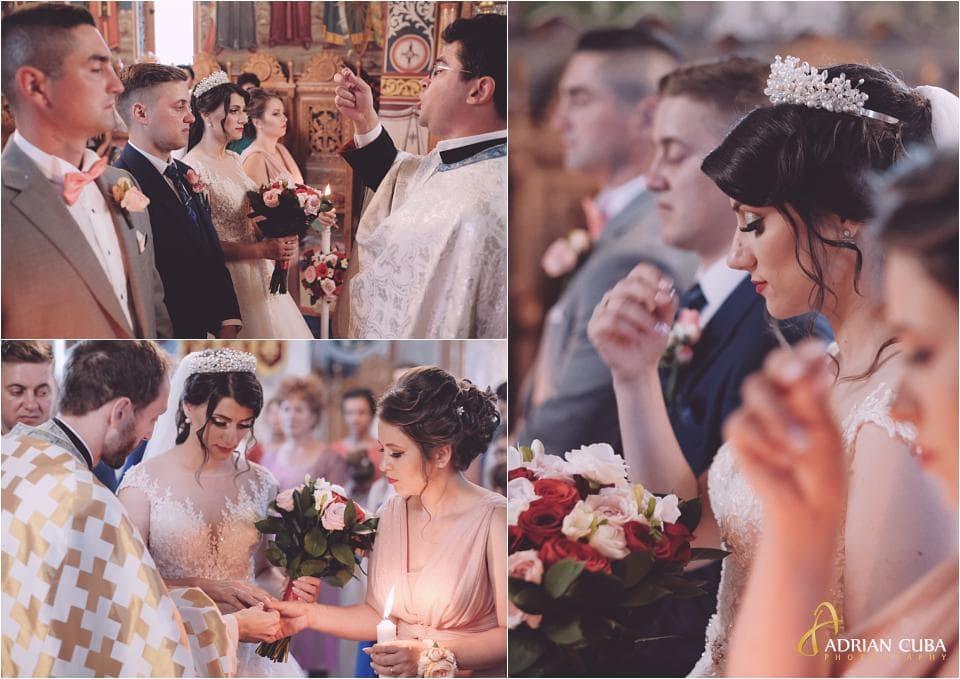 Nunta Vaslui, cununia religioasa.
