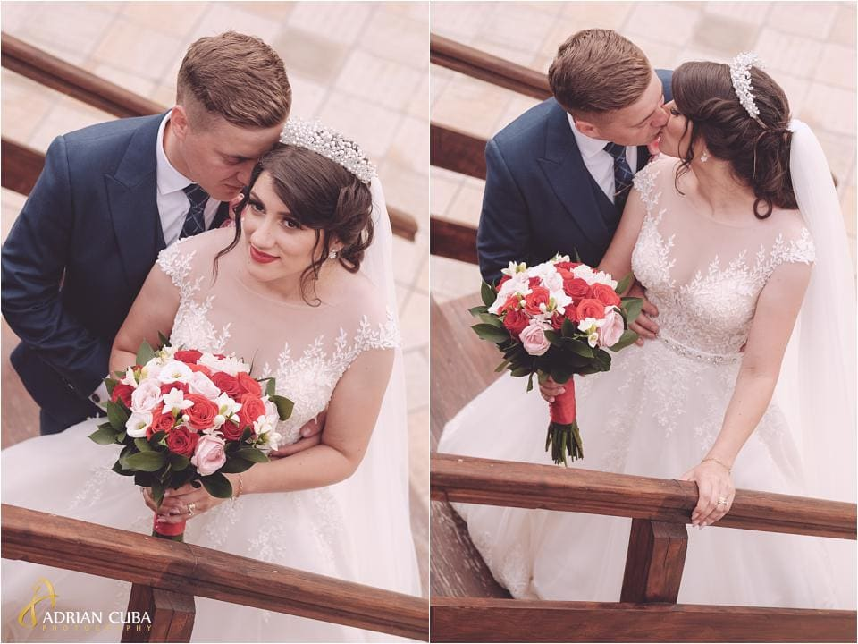 Mirele si mireasa la sesiunea foto de nunta la Vaslui.