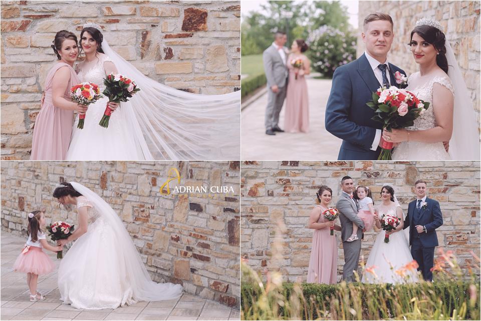 Mirii si nasii la sedinte foto de nunta in Vaslui.