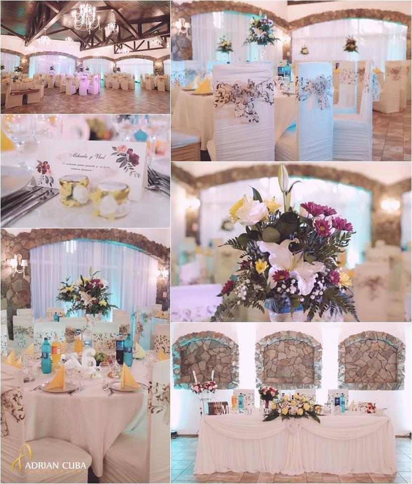 Restaurant Crismona petrecere nunta.
