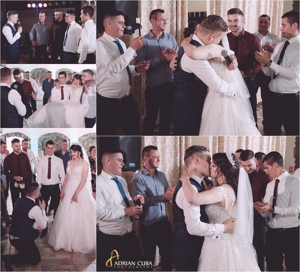 Furatul miresei la nunta in restaurant Crismona Vaslui