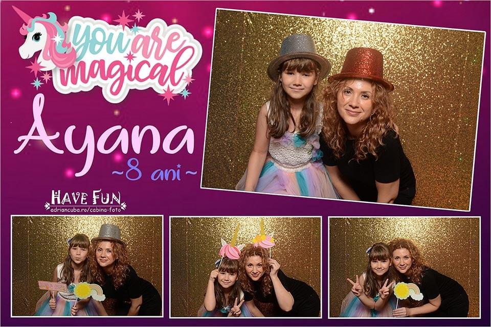 Cabina foto Have Fun la petrecere copii Party Land Vaslui.