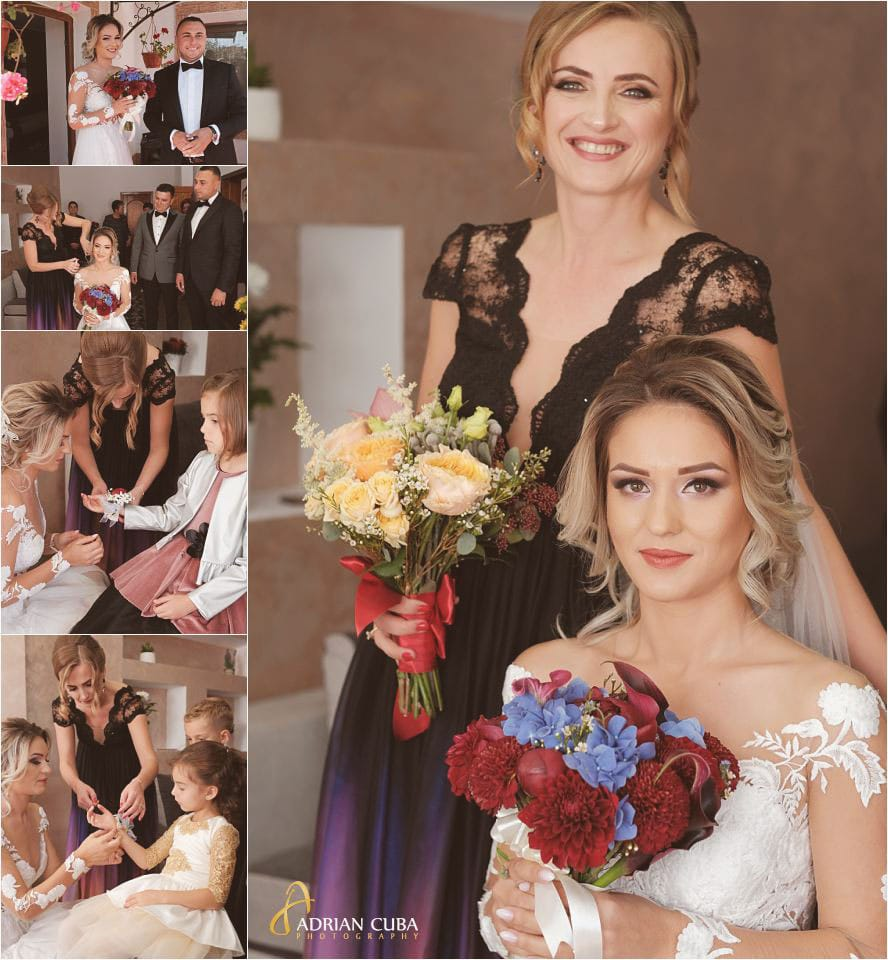 Fotografii la nunta Barlad, gatitul miresei