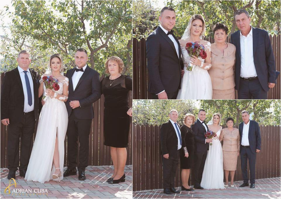 Mirii si parintii, fotografie de grup nunta