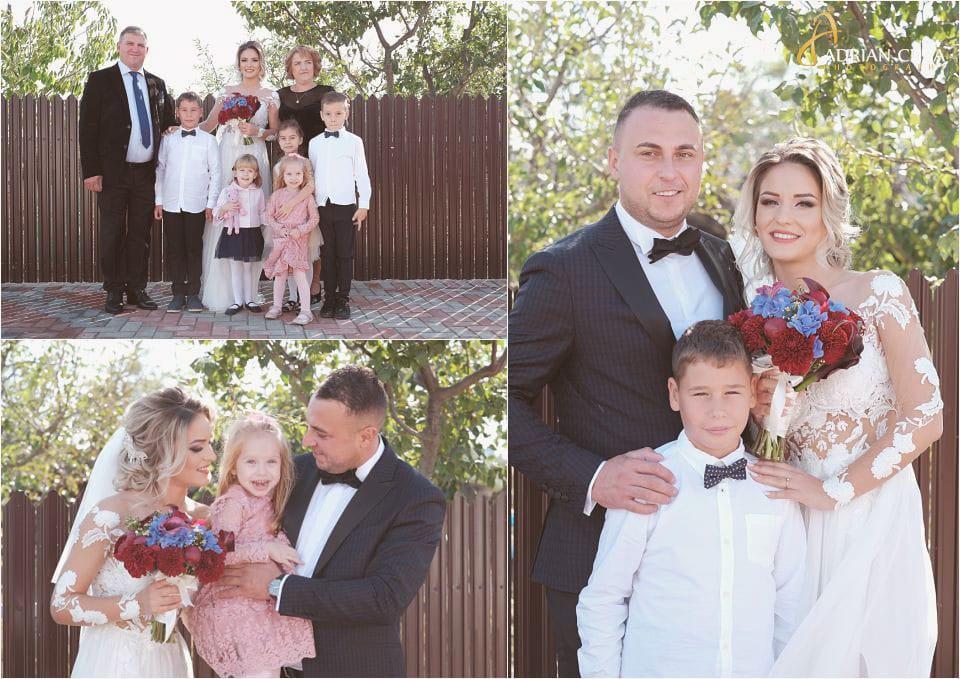 Foto nunta, mirii si parintii