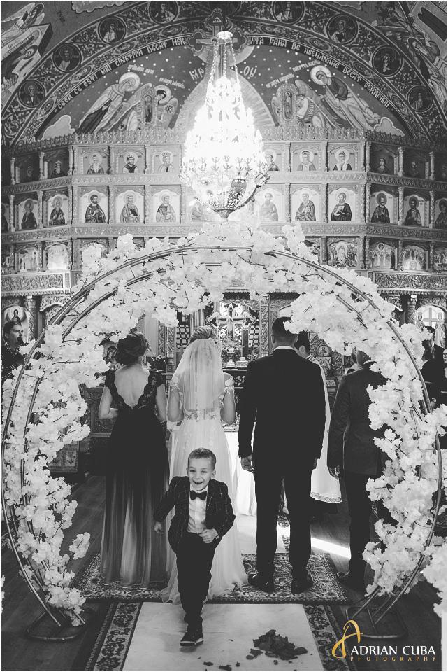 Foto nunta Barlad Vaslui, cununia religioasa