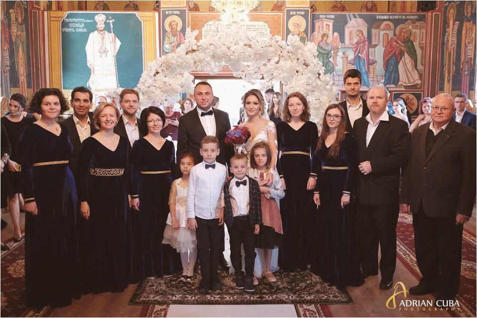 Corul Aletheia al Bisericii Bărboi din Iași canta la nunta Barlad