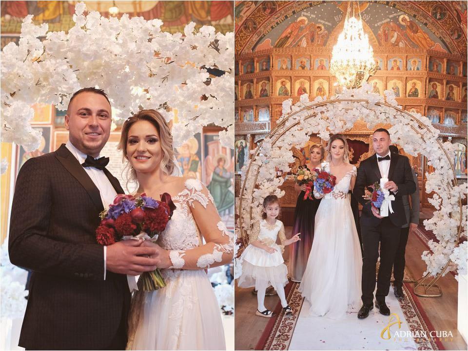 foto nunta mirii la biserica barlad