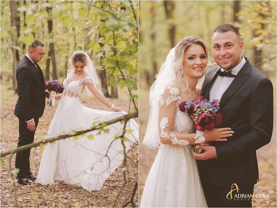 Mirii la sedinta foto nunta Barlad, fotograf nunta Iasi, buchet mireasa