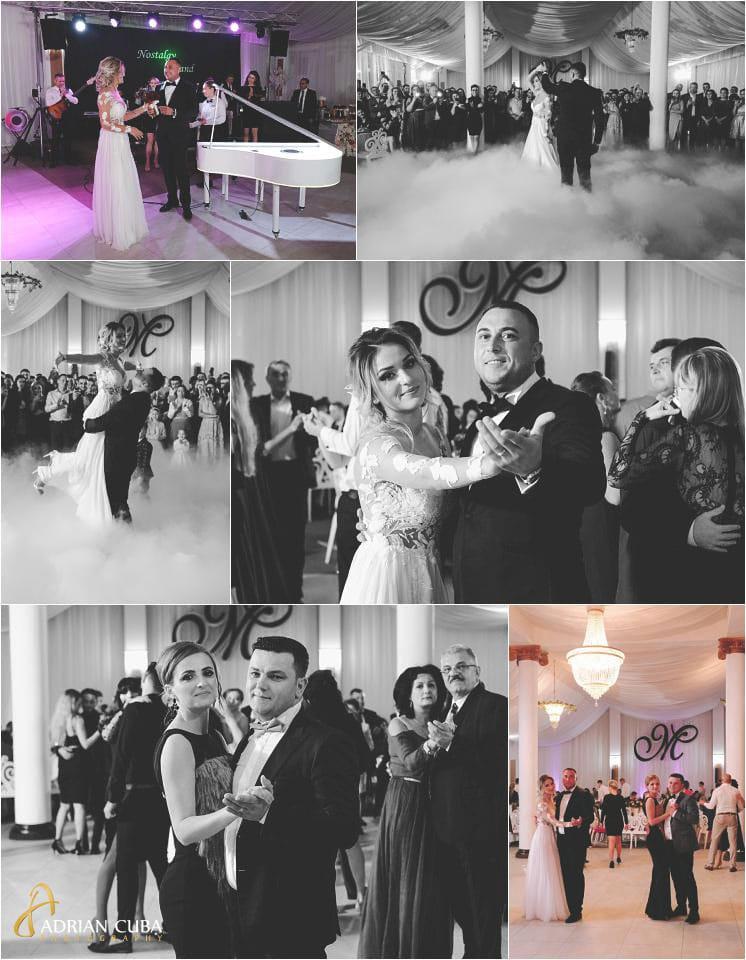 Dansul mirilor la restaurant Mira, fotograf nunta Barlad